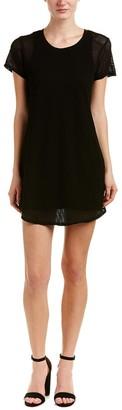 Michael Stars Women's Mesh Tee Shirt Dress
