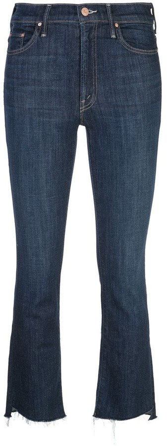 Mother Insider cropped jeans