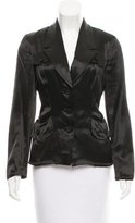 Anna Sui Notch-Lapel Blazer