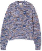 Acne Studios Zora Chunky-knit Sweater - Blue