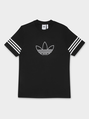 adidas Outline T-Shirt in Black