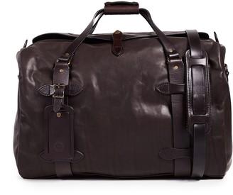 Filson Weatherproof Leather Medium Duffel Bag