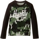 Hurley Athletic Raglan Tee (Little Kids)