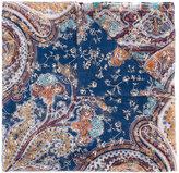 Etro paisley print embellished scarf - women - Silk - One Size