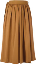 Lemaire pleated skirt - women - Cotton - S