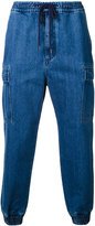 Monkey Time gathered ankle jeans - men - Cotton - S