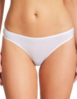 Fine Lines Low-Rise Stretchable Thongs