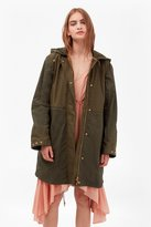 French Connection Mili Canvas Summer Parka