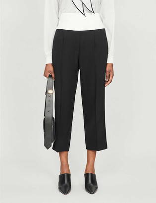 Givenchy Cropped straight high-rise wool trousers