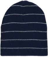 ZEF Wool Cashmere Striped Easy Beanie