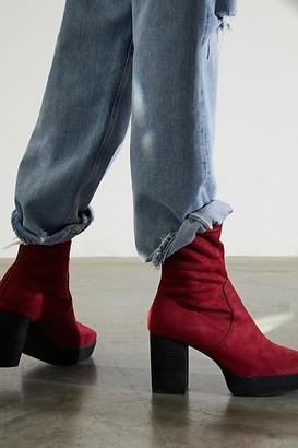 Brand X Vandal Platform Ankle Boots
