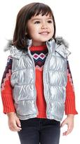 Old Navy Hooded Frost-Free Vest for Toddler Girls