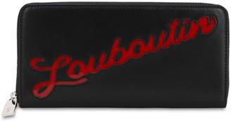 Christian Louboutin Panettone Loubou Leather Zip Wallet