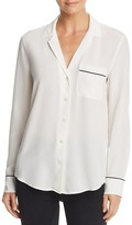 Equipment Keira Pajama Silk Shirt