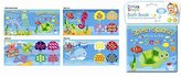 SOFT BABY BATH BOOK EDUCATIONAL TOY 6 MONTHS WATERPROOF SEA AND ALPHABET ANIMALS CHOOSE BOOK (Sea) by RSW