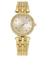 Charter Club Women's Gold-Tone Bracelet Watch 28mm, Only at Macy's