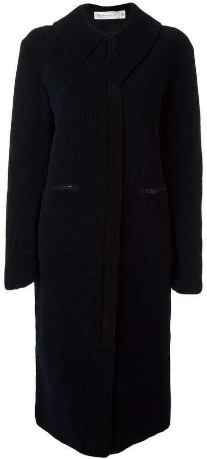 Victoria Beckham long bomber jacket