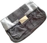 Giuseppe Zanotti Grey Suede Clutch bag