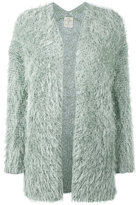Forte Forte fluffy cardigan - women - Linen/Flax/Polyester/Viscose - III
