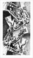 3.1 Phillip Lim 1art1 Posters: M.C. Escher Poster Art Print - Treppenhaus x 18 inches)