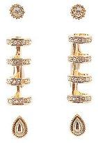 Charlotte Russe Embellished Ear Cuffs & Stud Earrings Set