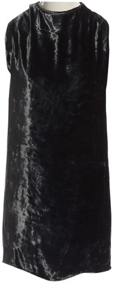Acne Studios Grey Velvet Dress for Women