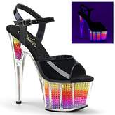 Pleaser USA Women's Ado709srs/b/Nmc Platform Sandal