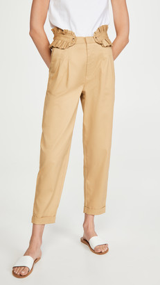 Scotch & Soda Chino Pants with Detachable Pleated Belt