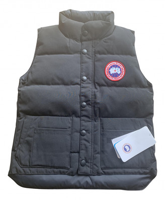 Canada Goose Black Cotton Jackets & Coats
