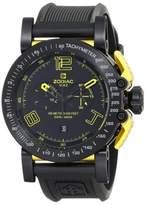 Zodiac ZMX ZO8555 Racer Analog Display Swiss Quartz Black Mens Watch
