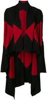Pierantonio Gaspari Pierantoniogaspari patterned long cardigan