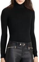Lauren Ralph Lauren Stretch Silk Turtleneck Sweater