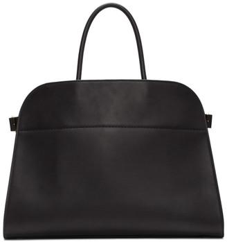 The Row Black Margaux Top Handle Bag