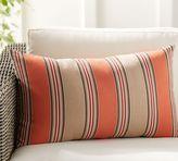 Pottery Barn Sunbrella Passage Stripe Indoor/Outdoor Lumbar Pillow