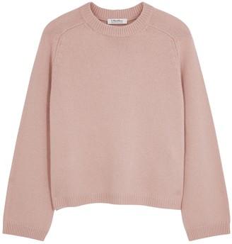 'S Max Mara Pagella dusty pink wool-blend jumper