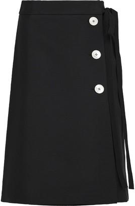 Prada Buttoned Midi Skirt