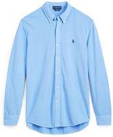 Big & Tall Polo Ralph Lauren Classic Fit Cotton Mesh Shirt