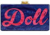 Edie Parker 'doll' box clutch - women - Acrylic - One Size