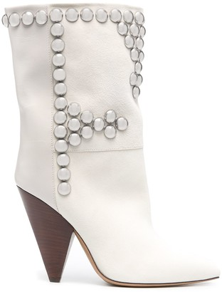 Isabel Marant Layo studded ankle boots