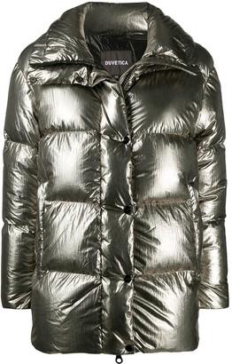 Duvetica Metallic Puffer Coat