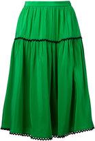 Kenzo A-line skirt - women - Silk - 36