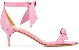 Alexandre Birman Bow Detail Low Heel Sandals