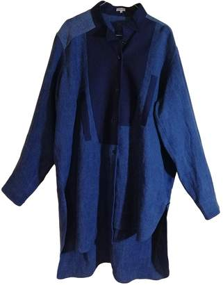 Loewe Blue Linen Top for Women