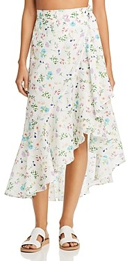 Paper London Lagos Silk Wrap Skirt
