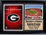 Georgia Bulldogs Photo Stat Frame
