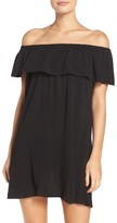 Becca Women's Southern Belle Off The Shoulder Cover-Up Dress