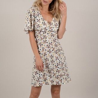 Molly Bracken Floral Print Dress with Tie-Back