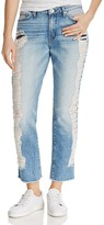 Band of Gypsies Distressed Straight-Leg Jeans