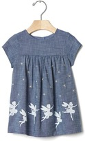 Gap 1969 Fairy Hem Chambray Dress