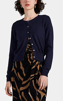 Prabal Gurung Women's Fine-Gauge Knit Cashmere Cardigan - Navy
